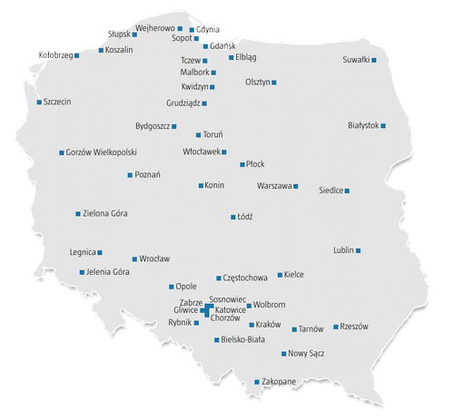 Distribution Network in Poland