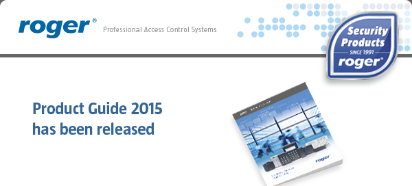 Product Guide 2015 has been released