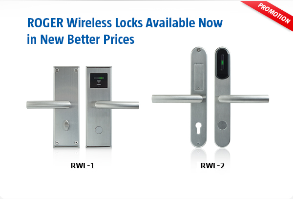 RWL-1 and RWL-2 Wireless Locks Available Now in New Better Prices