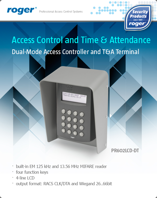 Dual-Mode Access Controller and T&A Terminal