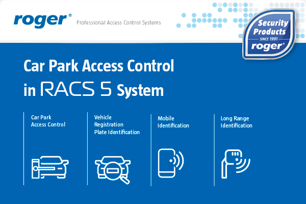 Car Park Access Control in RACS 5 System