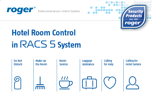 Hotel Room Control in RACS 5 System
