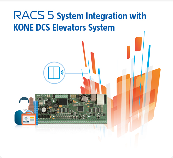RACS 5 System Integration with KONE DCS Elevators System