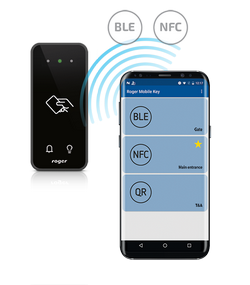 Mobile Identification by MCT80M-BLE Terminal