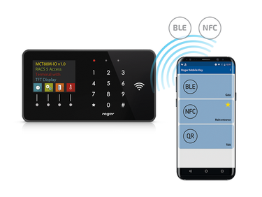 Mobile Identification by MCT88M-IO Terminal