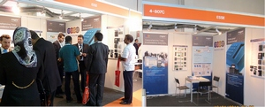 Roger Brand at Intersec 2011 Fairs