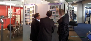 Roger Brand at Romanian Security Fair 2012