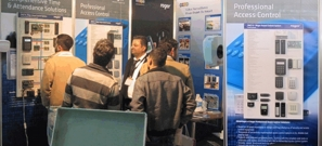 Roger Brand at Security Middle East Show 2011
