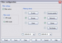 Access Control Management - Filter Configuration