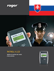 Patrol II LCD Brochure - Slovak version