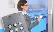 Access control: proximity readers, access controllers, software