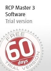 RCP Master 3 Software - 60 Days Trial Version