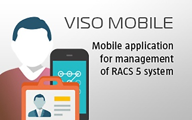 VISO Mobile - Application for Management of RACS 5 System