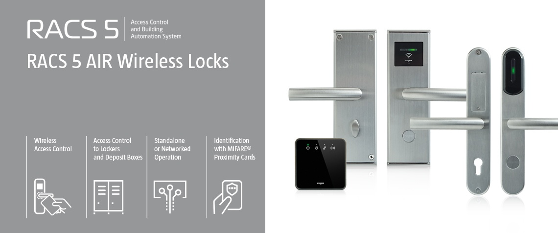 RACS 5 AIR Wireless Locks