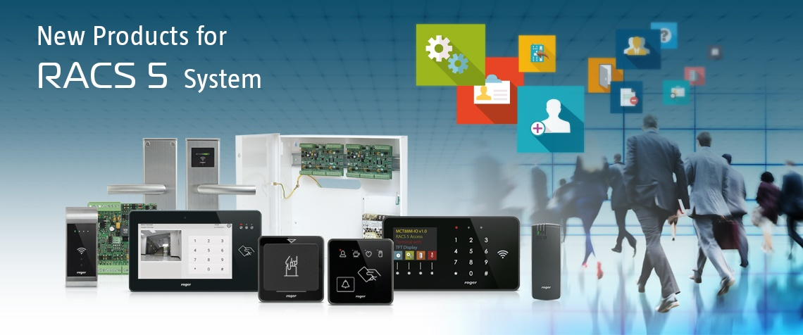 New Products for RACS 5 Access Control System