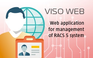 VISO Web - Application for Management of RACS 5 System