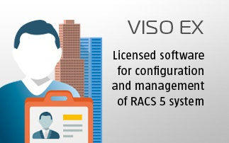VISO EX - Extended, licensed software for configuration and management of RACS 5 system